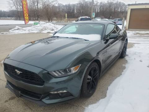 2015 Ford Mustang for sale at AMAZING AUTO SALES in Marengo IL