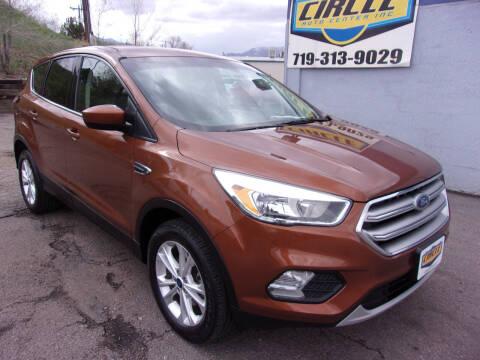 2017 Ford Escape for sale at Circle Auto Center in Colorado Springs CO