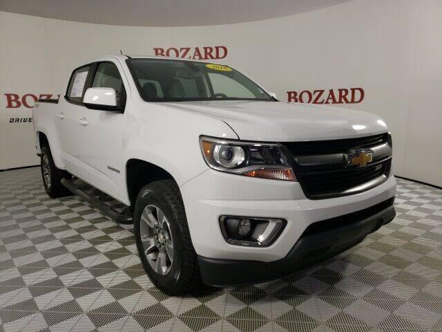 2018 Chevrolet Colorado for sale at BOZARD FORD in Saint Augustine FL
