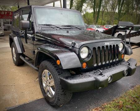 2012 Jeep Wrangler for sale at GABBY'S AUTO SALES in Valparaiso IN