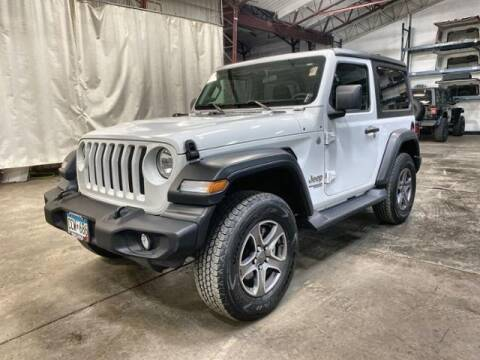 2018 Jeep Wrangler for sale at Waconia Auto Detail in Waconia MN