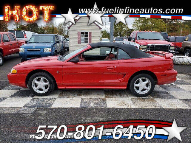 1994 Ford Mustang for sale at FUELIN FINE AUTO SALES INC in Saylorsburg PA