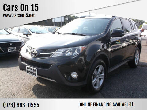 2013 Toyota RAV4 for sale at Cars On 15 in Lake Hopatcong NJ