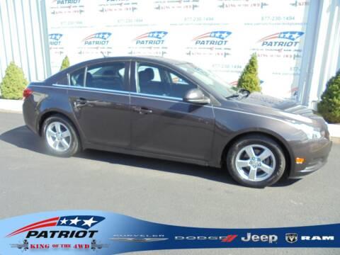 2014 Chevrolet Cruze for sale at PATRIOT CHRYSLER DODGE JEEP RAM in Oakland MD