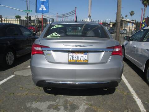 2014 Chrysler 200 for sale at Best Deal Auto Sales in Stockton CA