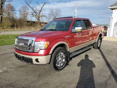 2010 Ford F-150 for sale at Rick's R & R Wholesale, LLC in Lancaster OH