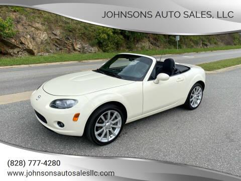 2008 Mazda MX-5 Miata for sale at Johnsons Auto Sales, LLC in Marshall NC