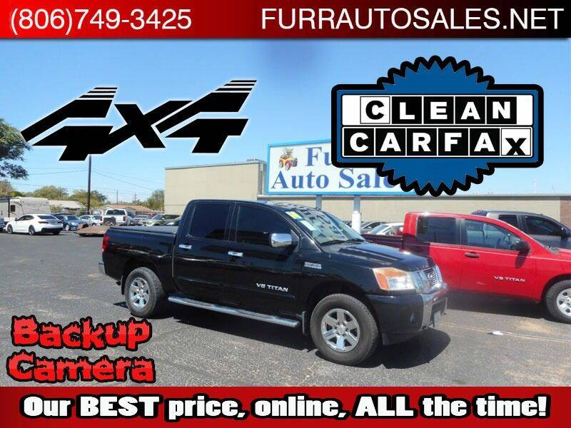 2014 Nissan Titan for sale at FURR AUTO SALES in Lubbock TX