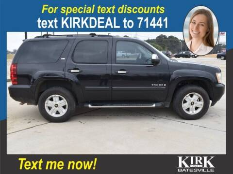 2008 Chevrolet Tahoe for sale at Kirk Brothers Batesville in Batesville MS