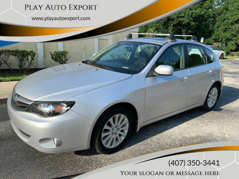 2010 Subaru Impreza for sale at Play Auto Export in Kissimmee FL