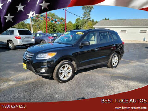 2012 Hyundai Santa Fe for sale at Best Price Autos in Two Rivers WI