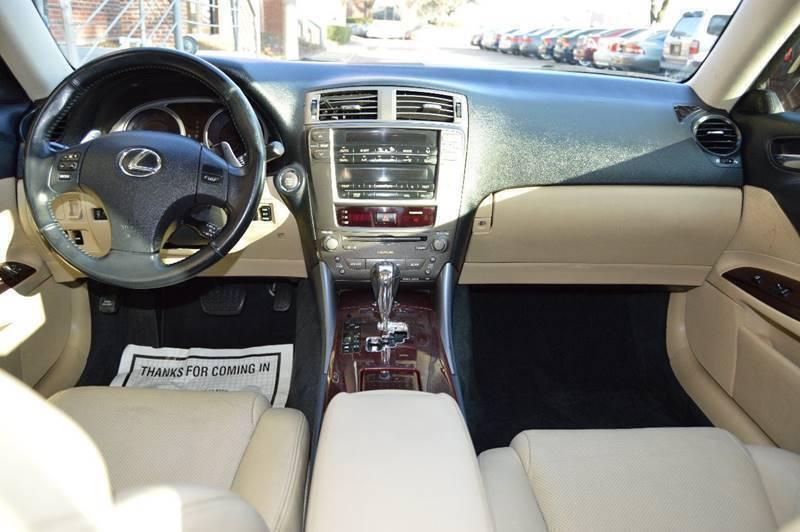 2008 Lexus IS 250 4dr Sedan 6A - Dallas TX