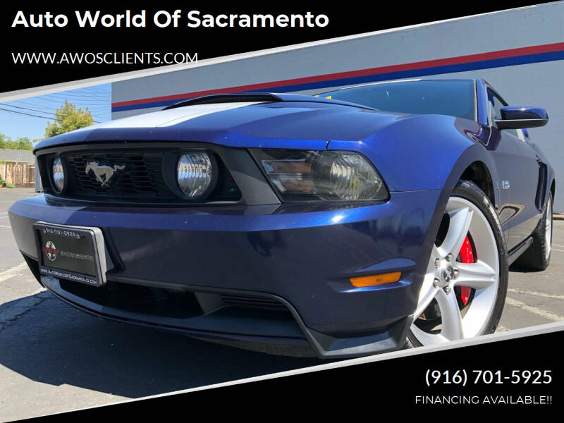 2012 Ford Mustang for sale at Auto World of Sacramento Stockton Blvd in Sacramento CA