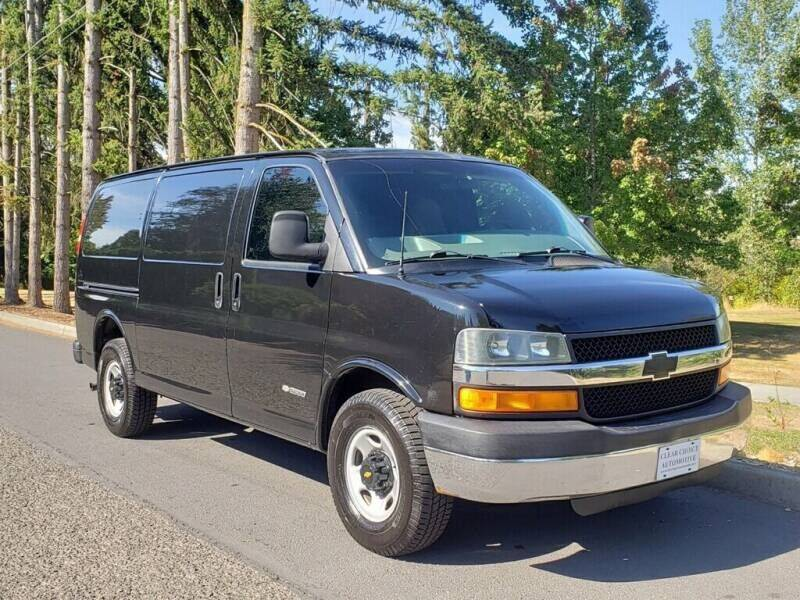 2006 Chevrolet Express Cargo for sale at CLEAR CHOICE AUTOMOTIVE in Milwaukie OR