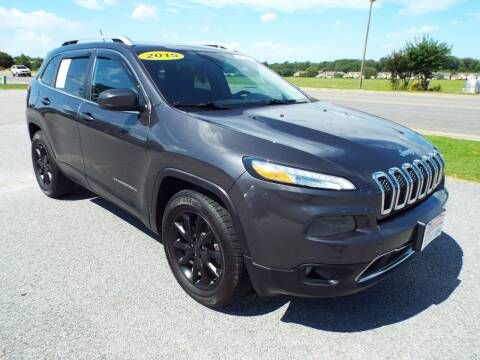 2015 Jeep Cherokee for sale at USA 1 Autos in Smithfield VA