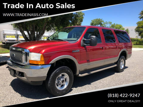 2001 Ford Excursion for sale at Trade In Auto Sales in Van Nuys CA