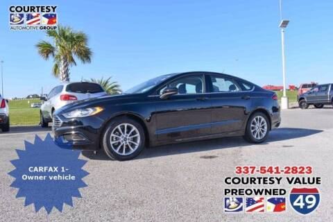 2017 Ford Fusion for sale at Courtesy Value Pre-Owned I-49 in Lafayette LA