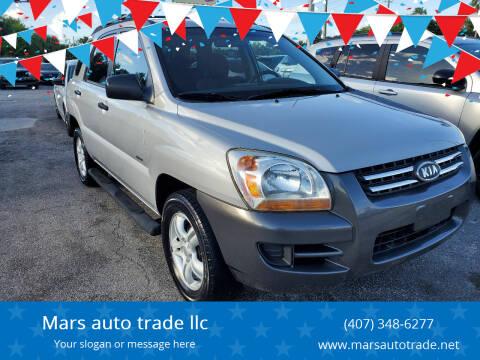 2007 Kia Sportage for sale at Mars auto trade llc in Kissimmee FL