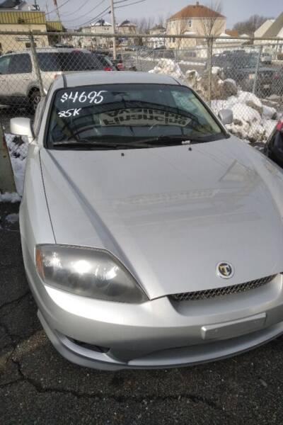 2006 Hyundai Tiburon for sale at Bob Luongo's Auto Sales in Fall River MA