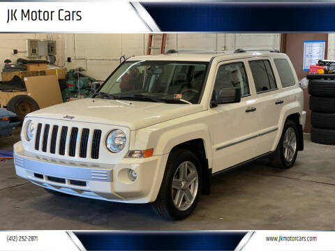2008 Jeep Patriot for sale at JK Motor Cars in Pittsburgh PA