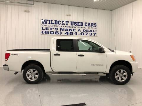 2014 Nissan Titan for sale at Wildcat Used Cars in Somerset KY