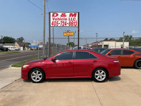 2007 Toyota Camry for sale at D & M Vehicle LLC in Oklahoma City OK