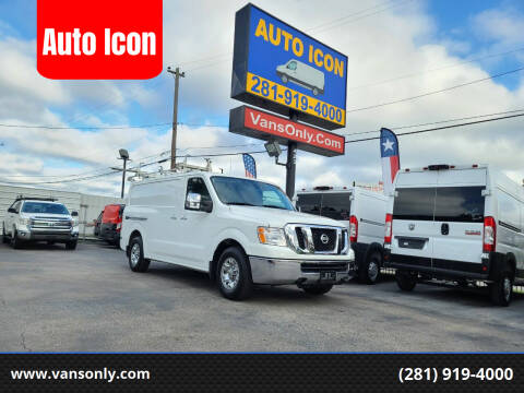 2018 Nissan NV Cargo for sale at Auto Icon in Houston TX