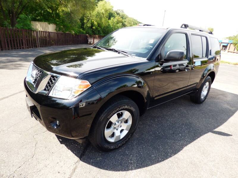 2008 Nissan Pathfinder for sale at Chris's Century Car Company in Saint Paul MN