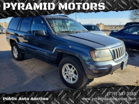 2004 Jeep Grand Cherokee for sale at PYRAMID MOTORS - Pueblo Lot in Pueblo CO