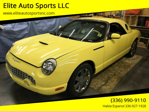 2002 Ford Thunderbird for sale at Elite Auto Sports LLC in Wilkesboro NC