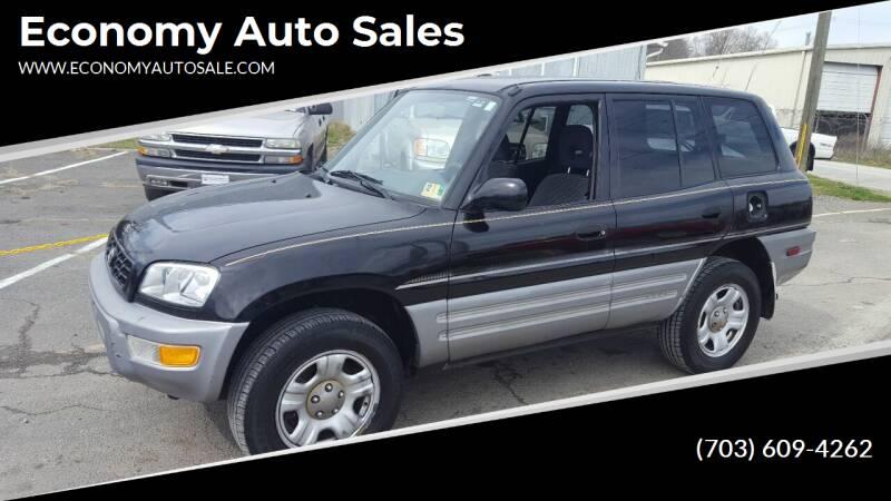 2000 Toyota RAV4 for sale at Economy Auto Sales in Dumfries VA