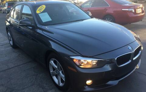 2015 BMW 3 Series for sale at Sac River Auto in Davis CA