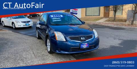 2010 Nissan Sentra for sale at CT AutoFair in West Hartford CT