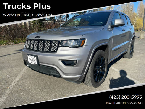 2017 Jeep Grand Cherokee for sale at Trucks Plus in Seattle WA