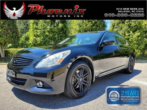 2013 Infiniti G37 Sedan for sale at Phoenix Motors Inc in Raleigh NC