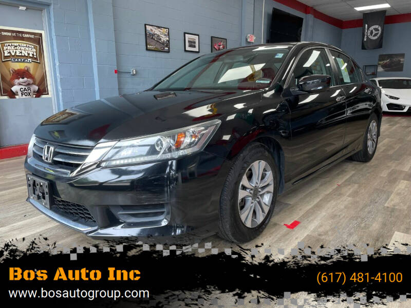 2014 Honda Accord for sale at Bos Auto Inc in Quincy MA