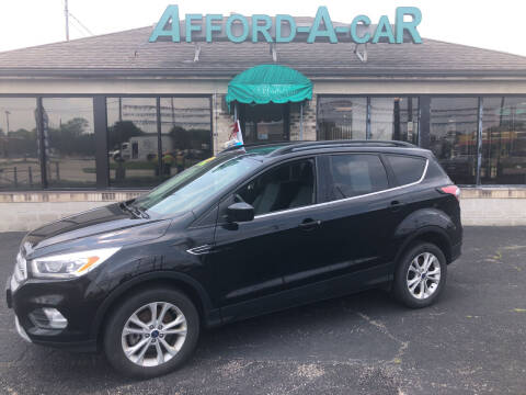 2017 Ford Escape for sale at Afford-A-Car in Moraine OH