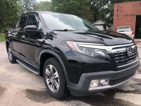 2017 Honda Ridgeline for sale at Creekside Automotive in Lexington NC
