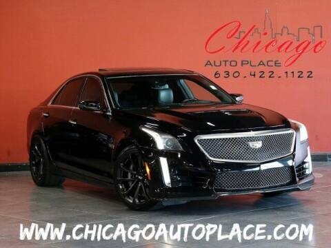 2017 Cadillac CTS-V for sale at Chicago Auto Place in Bensenville IL