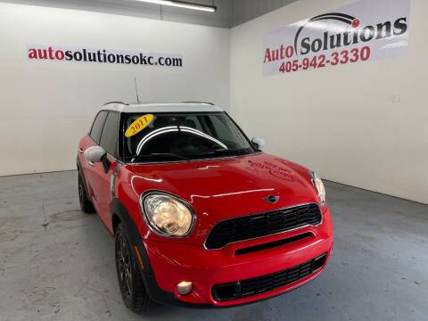2011 MINI Cooper Countryman for sale at Auto Solutions in Warr Acres OK