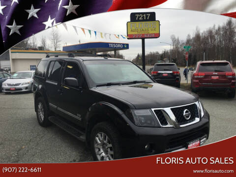 2008 Nissan Pathfinder for sale at FLORIS AUTO SALES in Anchorage AK