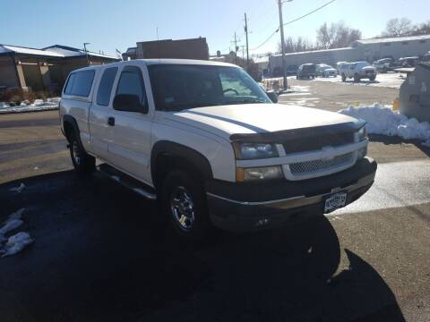 2004 Chevrolet Silverado 1500 for sale at BERKENKOTTER MOTORS in Brighton CO