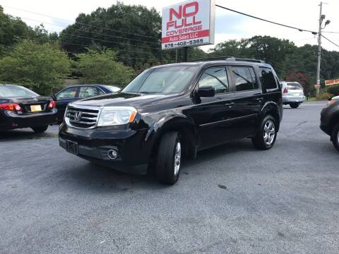 2012 Honda Pilot for sale at No Full Coverage Auto Sales in Austell GA
