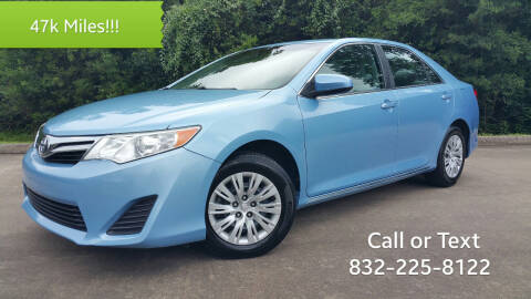 2013 Toyota Camry for sale at Houston Auto Preowned in Houston TX
