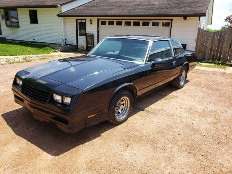 1986 Chevrolet Monte Carlo for sale at Shinkles Auto Sales & Garage in Spencer WI