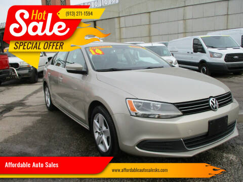 2014 Volkswagen Jetta for sale at Affordable Auto Sales in Olathe KS