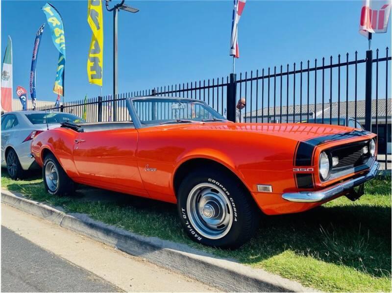 1968 Chevrolet Camaro for sale at KARS R US in Modesto CA