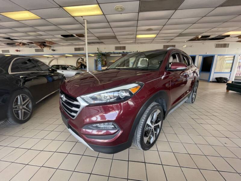 2017 Hyundai Tucson for sale at Flash Auto Sales in Garland TX