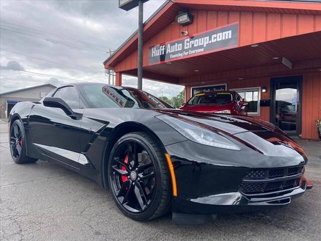 2019 Chevrolet Corvette for sale at HUFF AUTO GROUP in Jackson MI