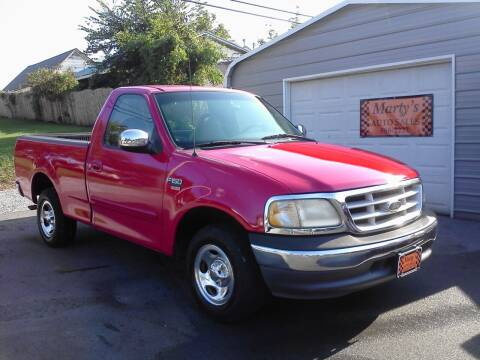1999 Ford F-150 for sale at Marty's Auto Sales in Lenoir City TN
